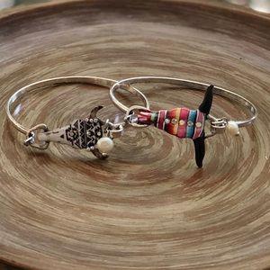 Jewelry - Bull Skull Rustic Serape Bracelet Bangle Boutique